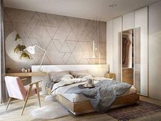 Nightstands, beds, side tables, cabinets or armchairs are some of the luxury bedroom furniture tips that you can find. Every detail matters when we are decorating our master bedroom, right? Modern Bedroom Design, Master Bedroom Design, Contemporary Bedroom, Home Bedroom, Bedroom Decor, Bedroom Mirrors, Bedroom Ideas, Bedroom Green, Master Bedrooms