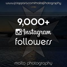 @maltaphotography just reached 9000 followers on #instagram!! Thanks to all of you for your daily support! Keep tagging your #wonderful #photos with #MaltaPhotography :) Also don't forget about our poll - http://ift.tt/1VEFPUZ