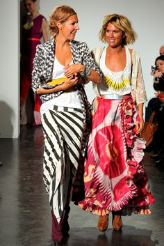 Love them.... Heidi Middleton & Sarah Jane Clark - fashion designers of Sass & Bide #fashion