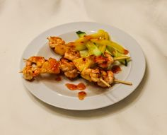 eat like you love yourself: Prawn and Pineapple Skewers