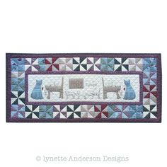 Shop | Category: Lynette Anderson Designs | Product: Happy Family Tablerunner