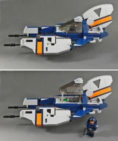 LEGO Galaxy Patrol Vic Viper - Side Shot by halfbeak, via Flickr