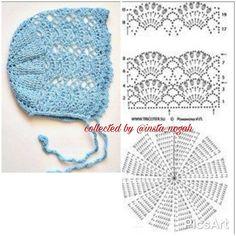 30 Amazing Picture of Baby Booties Crochet Pattern Baby Bonnet Pattern, Crochet Baby Bonnet, Baby Girl Crochet, Crochet Baby Shoes, Crochet Baby Clothes, Love Crochet, Crochet For Kids, Thread Crochet, Diy Crochet