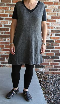 Ravelry: Project Gallery for modern tunic pattern by Lori Versaci