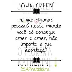 O Teorema Katherine- John Green Frases Bad, Deep Thoughts, Book Quotes, Photo And Video, Internet, Life, Dreams, Instagram, Words