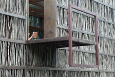 Liyuan Library in Beijing Bioarchitecture, biodesign, interior design, sustainable architecture