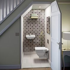 Mode Verso wall hung toilet and basin suite
