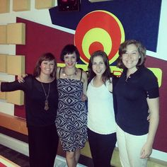 The #soloists who will perform on Saturday at Rotary #Durban Pops. Anna d'Andrea, Annelize De Villiers and Joanna Franckel. #ECR #radio #interview #studio