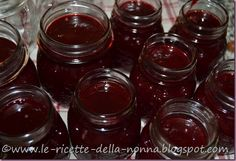 Le Ricette della Nonna: Gelatina di more More, Chutney, Grande, Gelatin, Canning, Chutneys