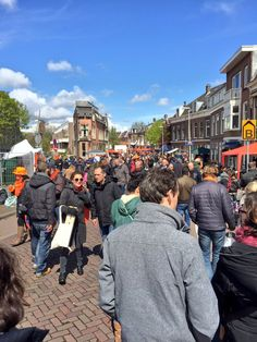 utrecht ,holland april 2016 ,very cold ,kingsday