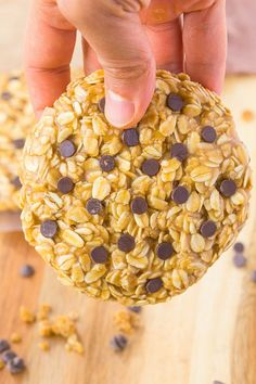 Healthy No Bake Giant Cookie For One- Firm and chewy cookies which are quick and easy to whip up- They are low sugar, gluten free, vegan and HUGE!