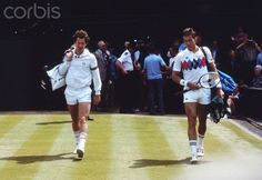 The rivalry of the 80s. 1983 - Ivan Lendl and John McEnroe. My Dad was passionate for McEnroe. I was devoted to Lendl. We would get into screaming matches while watching them play. Good times.