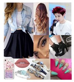 """Untitled #512"" by tinacutie on Polyvore featuring Casetify, Lime Crime and Allurez"