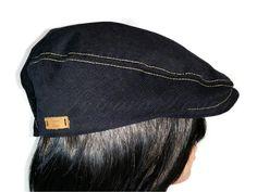 Schiebermütze Feincord schwarz von Sylvara Design auf DaWanda.com