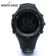 84.88$  Buy now - http://aliuo3.worldwells.pw/go.php?t=32704506264 - NORTH EDGE Men's Sport Digital Watch Running Swimming Altimeter Barometer Compass Thermometer Weather Pedometer Smart Watches