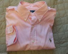 Ralph Lauren men dress #shirt 16.5-32/33 button-down pink NWT Classic Fit RalphLauren visit our ebay store at  http://stores.ebay.com/esquirestore