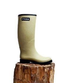 Roma BootsRoma Boots Matte Taupe Rain Boots