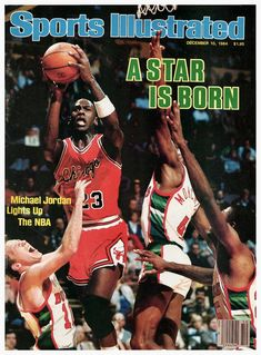 Chicago Bulls, Michael Jordan Basketball, Love And Basketball, Jordan 23, Bulls Basketball, Jeffrey Jordan, Basketball Pictures, Milwaukee Bucks, Sports Magazine Covers
