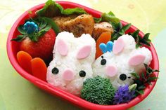 Page 4 - 15 Healthy Spring Lunch Ideas for Kids I Easter Bento Box Lunch Ideas - ParentMap