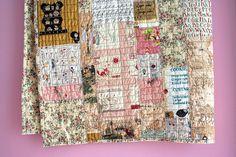 quilt by Rosa Pomar, via Flickr