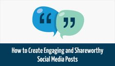 How to Create Engaging and Shareworthy #SocialMedia Posts:    https://blog.red-website-design.co.uk/2015/02/03/how-to-create-engaging-and-shareworthy-social-media-posts/    #Marketing