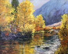 "$220 ""Rush Creek"", 8x10, oil on panel,"