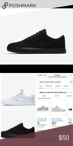 size 40 dd38a bdc2e Brand new in box Nike solar soft women s shoe Brand new in box 📦 all black