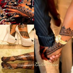 Beautiful beautiful Laali on #bellanaija Bride Aisha. Stunning! #henna #hennatattoo #bodyart