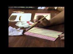 ▶ Decoupage em capa de caderno infantil - Passo a passo 2/2 - YouTube