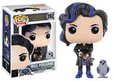 Miss Peregrine's Home for Peculiar Children: Miss Peregrine and her bird form Pop figures by Funko
