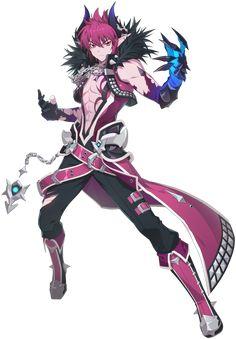 Grand Chase for kakao Dio Demon Manga, Oc Manga, Game Character, Character Concept, Concept Art, Chibi, Estilo Anime, Elsword, Fantasy Character Design