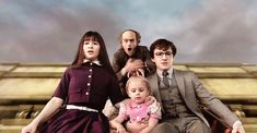 Violet: God I'm an amazing inventor. Klaus: We're probably going to die. Sunny: What is going on? Netflix Series, Series Movies, Tv Series, Movies Showing, Movies And Tv Shows, Lemony Snicket Series, Olaf, A Series Of Unfortunate Events Netflix, Les Orphelins Baudelaire