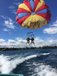 Big Sky Parasailing Tandem - Deluxe - Epic deals and last minute discounts Okinawa Japan, Kyoto Japan, Places To Travel, Places To See, Japanese Geisha, Japanese Kimono, Tokyo Japan Travel, Parasailing, Summer Bucket Lists