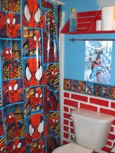 Sons Spiderman Bathroom