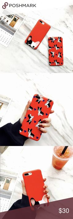 ✨ Pug Love ✨ ✖️ Phone Case Bundle ✖️  Size : iPhone 6 - iPhone 7 Plus  Eye Candy Cases Accessories Phone Cases