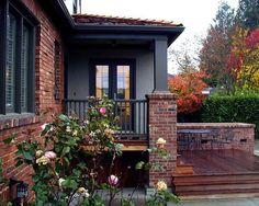 exterior house color schemes with red brick - Google Search | house ...