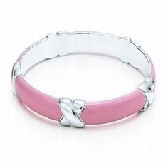 Tiffany & Co Outlet Signature Bangle Pink-02 $19.99