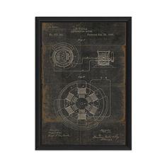 Tesla Alternating Motor (Print)