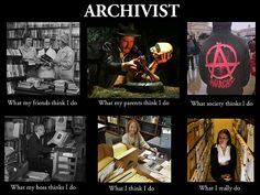 What Archivists Do by rachelpics, via Flickr