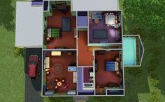 Reddit User Recreates The House From Family Guy In Sims 3 Family Guy Sims Recreation