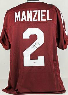 Johnny Manziel Signed Texas A+M Aggies Jersey - Sports Memorabilia 8549f29c5