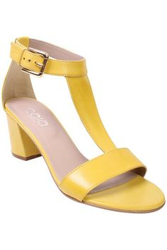 A great shoe from Cara. The small heel means they are nice and easy to wear during the day and can be taken into the evening with a pretty tea dress.  Code: Corona Yellow