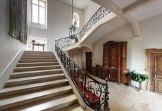 Escalier d'honneur.