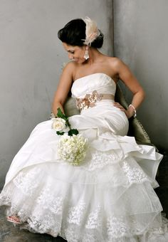 Wedding Belt Bridal Beaded Wedding SashJENNY by CamillaChristine, $168.00 Wedding Belts, Wedding Sash, Bridal Sash, Wedding Party Dresses, Dream Wedding, Wedding Ideas, Wedding Fun, Wedding Stuff, Fabric Rosette