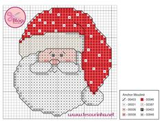 Thrilling Designing Your Own Cross Stitch Embroidery Patterns Ideas. Exhilarating Designing Your Own Cross Stitch Embroidery Patterns Ideas. Cross Stitch Christmas Cards, Santa Cross Stitch, Christmas Cross, Cross Stitch Charts, Cross Stitch Designs, Cross Stitch Patterns, Cross Stitching, Cross Stitch Embroidery, Embroidery Patterns