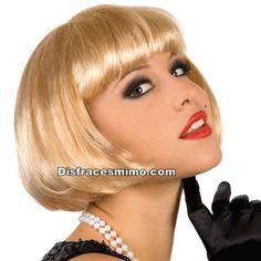 Tu mejor peluca corta rubia cabaret con flequillo pr 8588200 33899fbee07