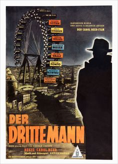 German poster for The Third Man