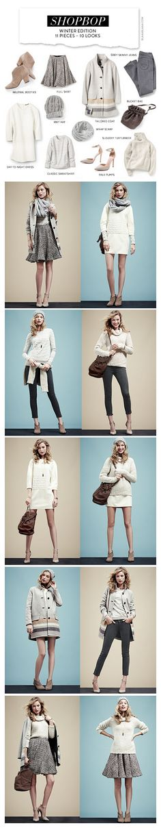 Shopbop Winter Edition 11 Pieces – 10 Looks