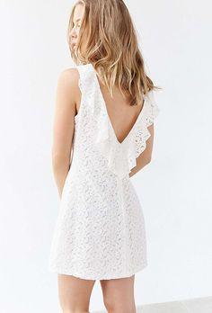 Sleeveless Lace Short Dress by Kimchi Blue | Brides.com