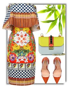 """Cuban Cigars"" by cherieaustin ❤ liked on Polyvore featuring Gianvito Rossi, Clover Canyon, Valentino, clovercanyon, valentino and GianvitoRossi"